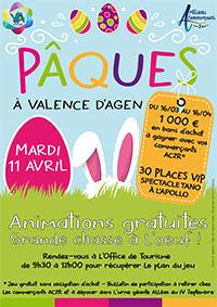 Marché de Paques @ Marché de Valence d'Agen