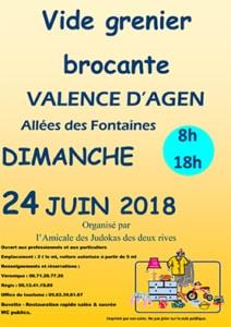Vide-grenier @ Valence d'Agen | Occitanie | France